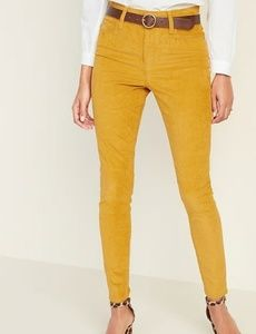 High-Waisted Rockstar Super Skinny Cords Old Navy